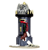 Lemax 44738 SPOOKYTOWN POST Spooky Town Accessories Mailbox Halloween Decor bcg