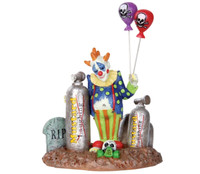 Lemax 32103 BALLOON CLOWN Spooky Town Figure Halloween Decor Figurine G bcg