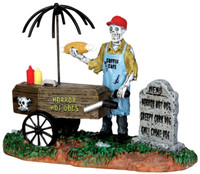 Lemax 42215 GHOUL HOT DOG VENDOR Spooky Town Figurine Halloween Decor Carnival bcg