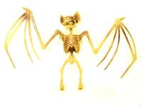 BAT SKELETON Bones Hanging Halloween Decor Party Decoration Eerie Accessories bcg