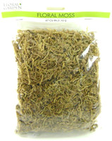 FLORAL MOSS Flower Arranging Crafts Spooky Village Town Scenery Halloween Decor bcg