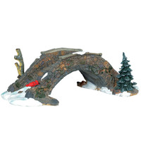 Lemax 03328 OLD STONE BRIDGE Christmas Village Landscape Accessories Table Accent bcg