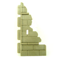 Playmobil 3839 Wizard's Workshop Part WALL DILAPIDATED Medieval Knights Castle bcg