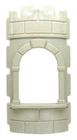 Playmobil 3839 Wizard's Workshop Part WALL CURVED WINDOW  Medieval Knights bcg