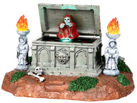 Lemax 04152 BOO! Spooky Town Table Accent Animated Halloween Decor Accessories bcg