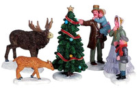 Lemax 62315 HOW BEAUTIFUL! Set of 5 Figurine Retired Christmas Village Figures bcg