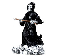 Lemax 12890 DEADLY GRIM REAPER Spooky Town Figure Halloween Decor Figurine bcg