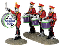 Lemax 32101 DRUM CORPSE Spooky Town Figurine Set of 2 Halloween Decor Figure bcg