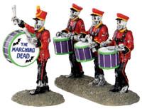 Lemax 32101 DRUM CORPSE Spooky Town Figurine Set of 2 Halloween Decor Figure bcg