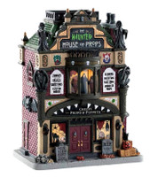 Lemax 85312 THE HAUNTED HOUSE OF PROPS Spooky Town Building  Halloween Decor bcg