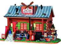 Lemax 05040 CEDAR CREEK OUTFITTERS EXCLUSIVE Building Christmas Village Vail bcg