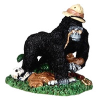 Lemax 02772 CURIOUS KONG Spooky Town Figurine Retired Halloween Decor Figure bcg