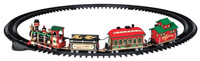 Lemax 24472 YULETIDE EXPRESS TRAIN SET 16 Pc Christmas Village Decor bcg