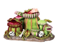 Lemax 02792 CARNIVOROUS PLANTS Spooky Town Accessories Retired Halloween Decor bcg