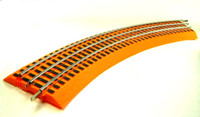 Lionel ORANGE FASTRACK O36 CURVE Halloween Hot Wheels Track O Scale Train  Track bcg