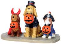 Lemax 12887 TRICK OR DOG TREATS Spooky Town Figurine Halloween Decor Figure bcg