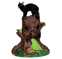 Lemax 54915 SPOOKY WOODS TREE STUMP Spooky Town Accessories Halloween Decor bcg
