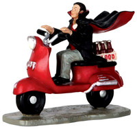 Lemax 62425 VAMPIRE BLOOD RUN Spooky Town Figurine Halloween Decor Figure bcg