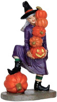 Lemax 62426 DELICATE BALANCE Spooky Town Figurine Halloween Decor Witch Figure bcg