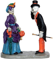 Lemax 62427 EVENING PROMENADE Spooky Town Figurine Halloween Decor Figure bcg