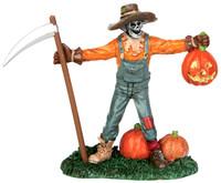 Lemax 52313 FREAKY FARMER Spooky Town Figurine Halloween Decor Figure Pumpkins bcg