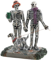 Lemax 82571 MOONLIGHT STROLL Spooky Town Figurine Halloween Decor Figure bcg