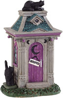 Lemax 94523 HAUNTED OUTHOUSE Spooky Town Accessories Halloween Decor bcg