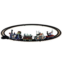 Lemax 14380 R.I.P. RAILROAD Spooky Town Halloween Decor RIP Battery Train Set bcg