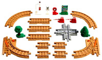 Fisher-Price GEOTRAX TRAIN RAIL PACK New In Box Toy Track and Accessories Rare bcg