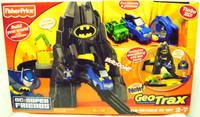 GeoTrax BATCAVE RC SET New In Box Rare Fisher Price 00886 Toys Batman Bat Cave bcg