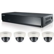 Samsung Techwin 4 Channel PoE NVR Kit SRK-3040S - Video Surveillance System