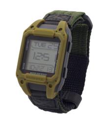 Humvee Recon Digital Watch -  Back Glow - Olive Drab