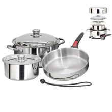 Magma Nestable 7 Piece Induction Cookware A10-362-IND