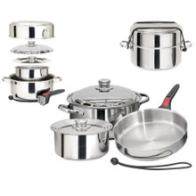 Magma Nestable 7 Piece S.S Starter Cookware Set A10-362