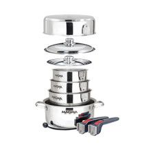 Magma Nestable 10 Piece Induction Cookware A10-360L-IND