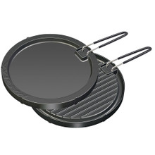 """Magma Two-Sided Non-Stick Griddle 11-1/2"""" Round A10-196"""