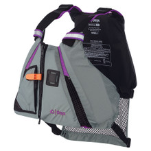 Onyx Movement Dynamic Paddle Sports Vest - Purple/Grey - Medium/Large