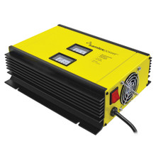 Samlex 50A Battery Charger - 12V - 2-Bank - 3-Stage w/Dip Switch & Lugs - Includes Temp Sensor