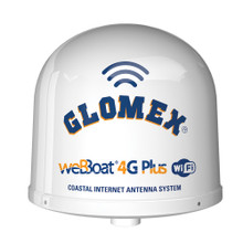 Glomex weBBoat 4G Plus 3G/4G/Wi-Fi Coastal Internet Antenna - North America & Canada Only