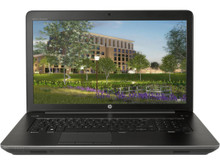 """HP ZBOOK 17-G4 17.3"""" FHD Mobile Workstation I7-7700 2.8 GHz 8GB 256GB"""
