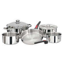 Magma Nesting 10 Piece S.S. Cookware Set A10-360L