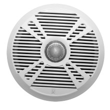 "Poly-Planar MA7065 6.5"" 2-Way Marine Speaker w/2 Grills - White & Graphite"