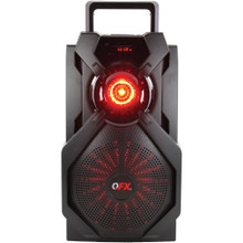 "QFX PBX-6 6"" Portable Rechargeable Bluetooth Party Speaker w/ App"