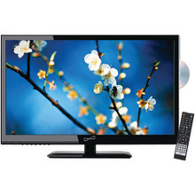 "Supersonic SC-2412 24"" 1080p LED TV/DVD Combination, AC/DC Compatible with RV/Boat"