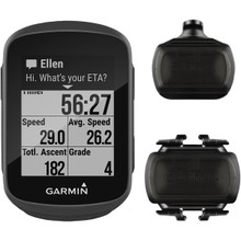 Garmin 010-01913-05 Edge 130 GPS Receiver for Cyclists with Sensor Bundle