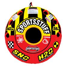 SportsStuff Super Crossover 2 Person Snow/Water Tube 30-3522