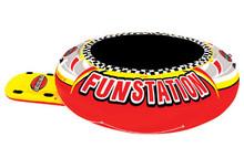 SportsStuff 10' Funstation Inflatable Floating Trampoline 58-1015