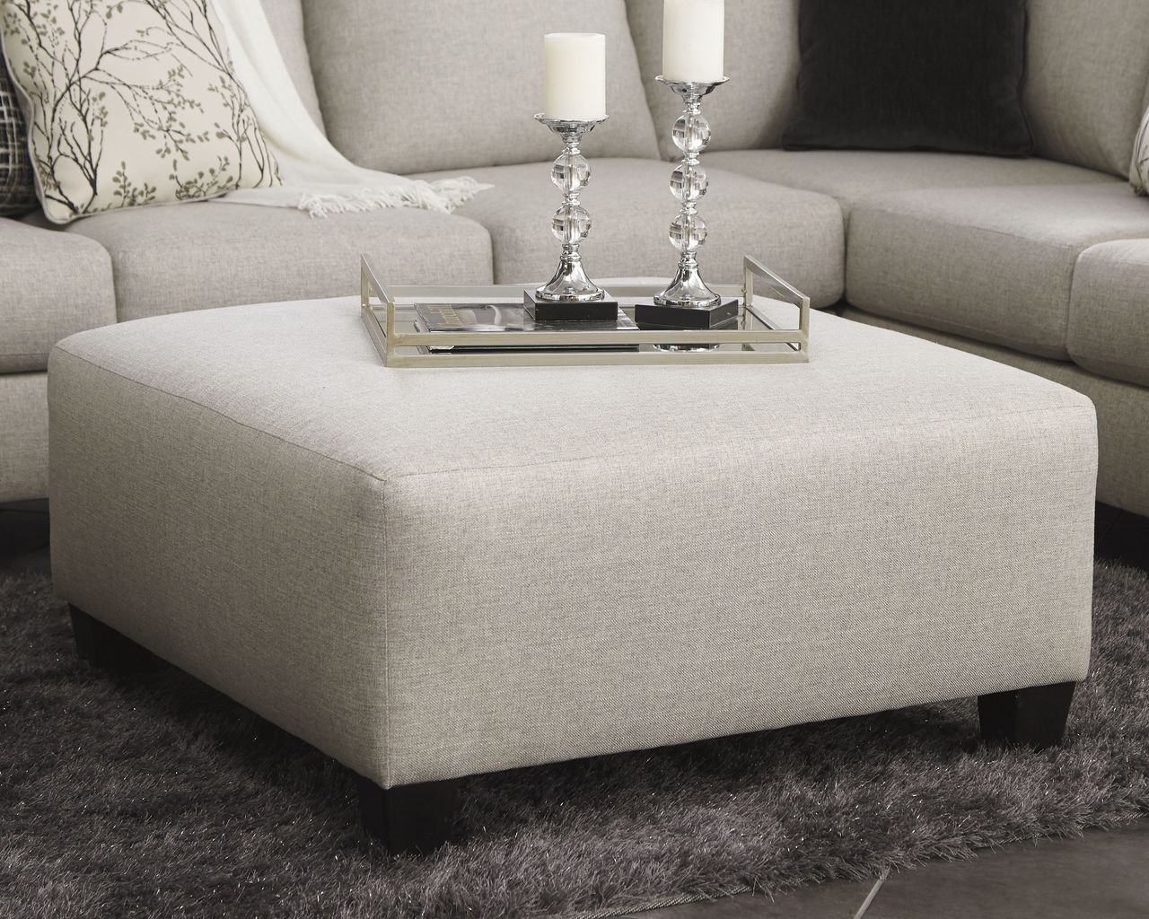 Astounding Hallenberg Fog Oversized Accent Ottoman Pabps2019 Chair Design Images Pabps2019Com