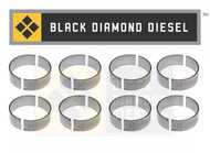 Black Diamond 04.5-05 Duramax 6.6 LLY Standard Connecting Rod Bearing Set (8)