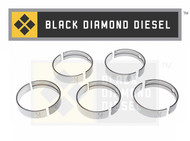 Black Diamond 06-07 Duramax 6.6 LBZ .50MM Oversize Main Bearing Set